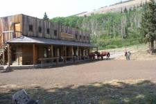Frontier lodge, Alberta, Canada