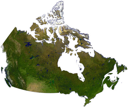 Maps Of Canada CGCPR Applied Geography - Geography map of canada