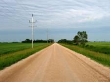 Canadian prairies in Manitoba