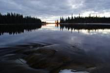 Northern Manitoba lake