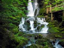 Fundy National Park waterfalls