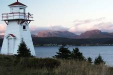 Norris Point, Gros Morne Mountain and Woody Point Lighthouse, Newfoundland