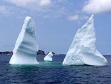 Iceberg near Twillingate, Newfoundland