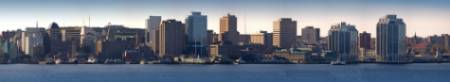 Halifax skyline and harbor