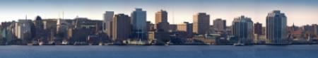 Halifax skyline and harbor