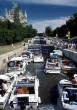 Rideau Canal Locks, Ottawa, Ontario