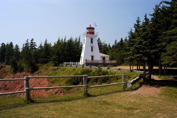 Cape Bear Lighthouse on Prince Edward Island