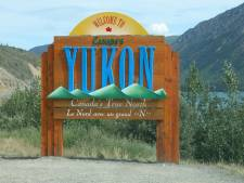 Yukon sign.
